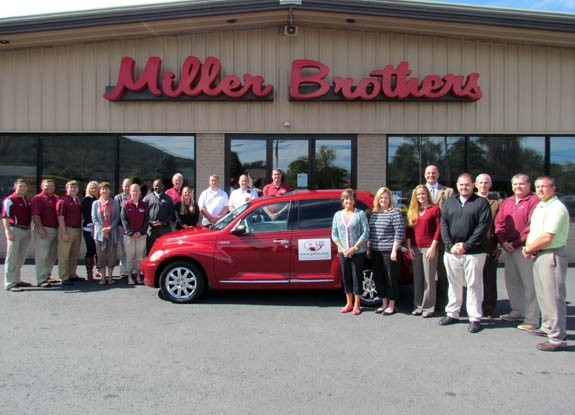 Brothers Auto Sales >> Lhu Athletics Thanks Miller Brothers Auto Sales For Generous