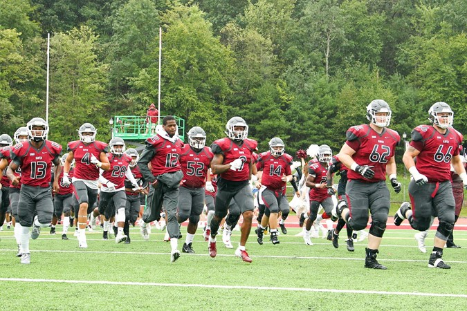 Lhu Football Set For 2018 Homecoming Bald Eagles Host Bloomsburg